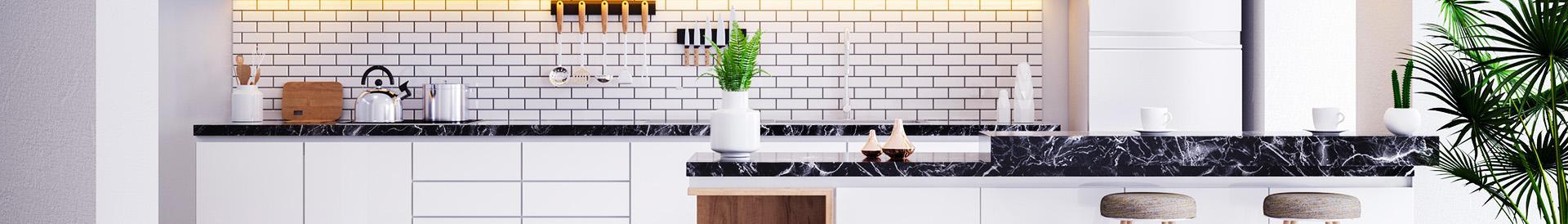 Kamienny blat w kuchni